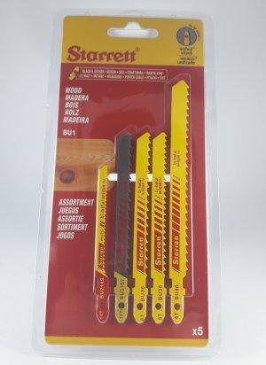 Cartela de Lâminas para Serra Tico-Tico BU1 Starret