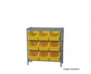 Estante Industrial Capacidade para 9 Caixas N7  Marcon