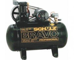 Compressor Industrial CSL 10BR/100 Trifasico 380v Schulz