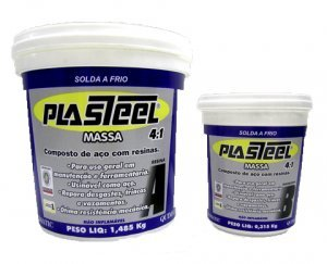 Composto Epóxi Plasteel Massa 4:1 PQ2