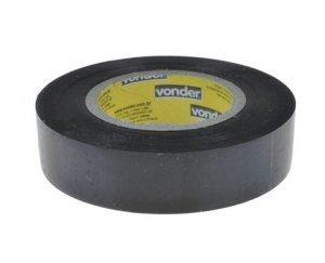 Fita Isolante Antichama 19 x 10 mm Preta Vonder