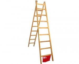 Escada Madeira 18 Degraus