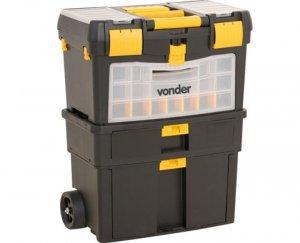Caixa Plástica para Ferramentas com Roda CRV 0100 Vonder