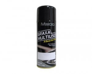 Graxa Multiuso à Base de Lítio M500 Aerosol - 200 ml Baston