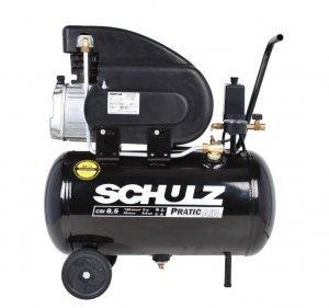 Compressor de Ar Pratic Air CSI 8,5 Pés 25 Litros 220V Schulz