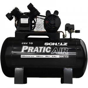 Compressor De Ar 10 Pés 100 Litros Mono 220v Schulz