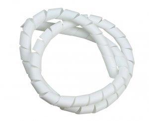 Organizador de Fios e Cabos 12,5 mm branco Daneva