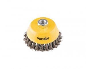 Escova copo torcida AC 100mm Vonder