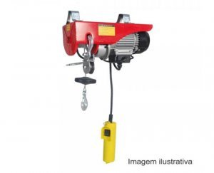Guincho coluna elétrica 300/600 kg H-A105 220V Motomil
