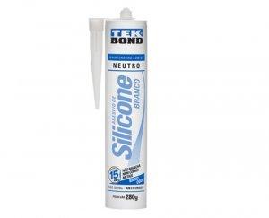 Siliconte neutro branco 280g Tekbond