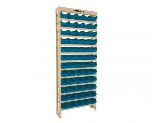 Kit Estante gaveteiro 60/3 azul cód.6103A Presto
