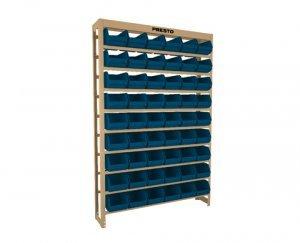 Kit Estante gaveteiro 54/5 azul cód.6116A Presto