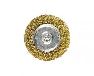 Escova circular 60mm com haste 6mm MTX