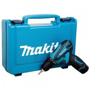 Furadeira/Parafusadeira Bateria 12V C/Maleta DF330DWE 220V Makita