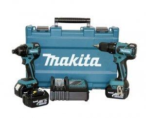Kit com Parafusadeira DHP459 + Furadeira DTD129 Bateria 18v 110/220v Makita