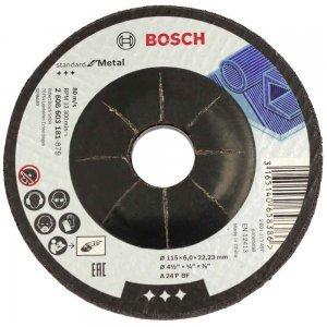 Disco de Desbaste Para Metal 115 X 6,0 X 22,23mm - BOSCH