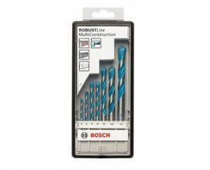 Jogo de Broca MultiConstruction 4mm a 12mm 7 pçs Bosch