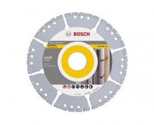 Disco diamantado segmentado multimaterial 110x20mm Bosch