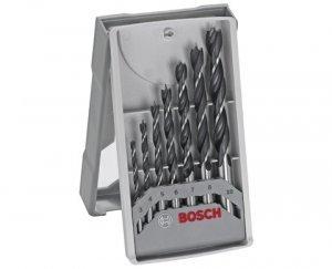 Jogo de broca p/madeira c/7 peças Bosch