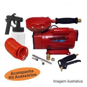 Compressor Ar Direto com Kit completo  Motomil
