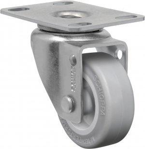 Rodízio Giratório GL 210 SP- Soft Rubber 30 kg