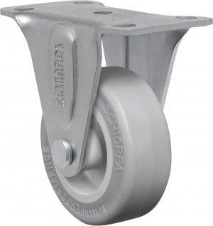 Rodízio Fixo FL 210  SP-Soft Rubber 30kg