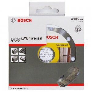Discos Diamantado Standard Turbo Universal 105mm Bosch