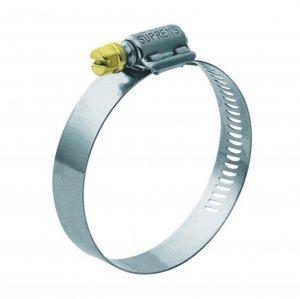 Abraçadeira Aço Carbono Fita 9mm Capacidade 19-27mm Zincado