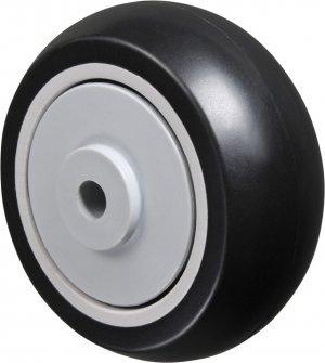 Roda 312 NP-Polopropileno Cor Preta 80kg