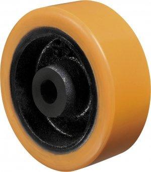 Roda - 62 PR-Poliuretano Cor Amarelo 700kg