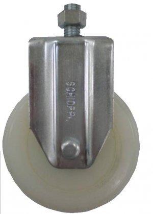 Rodízio Fixo C/ Espiga FLE 414 NT- Nylon 200kg