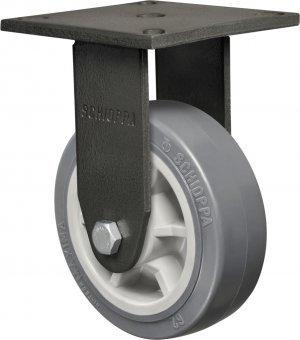 Rodízio Fixo FMX 62 BPR BP-Termoplástico com PVC 250kg