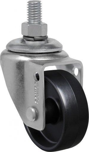 Rodízio Giratório C/ Esp.  GLE 210 NPP-Polipropileno 45kg