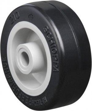 Roda 210 NP-Polipropileno Cor Preta 45kg