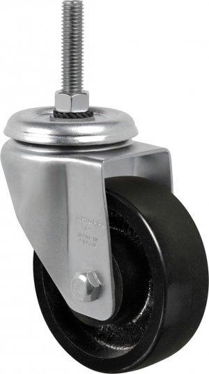 Rodízio Giratório C/ Espiga Longa GLEX 414 FE Ferro 300kg