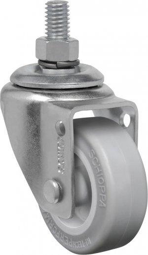 Rodízio Giratório com Espiga GLE 310 SP-Soft 30kg