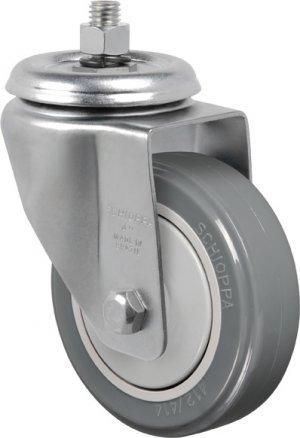 Rodízio Giratório C/ Espiga B.Nylon GLE 514 BPN-PVC 115kg