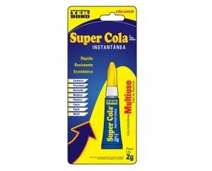 Super Cola 2G em blister Tekbond