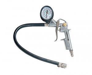 Pistola para inflar pneus com manômetro MTX
