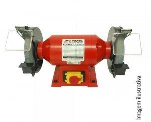 Motoesmeril MT100 1,0HP Trifásico 220V Motomil
