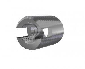 Inserto autocortante M6 X 1,0 Aço Carbonitretado