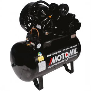 Compressor De Ar 10 Pés 100 Litros Mono 220v Motomil