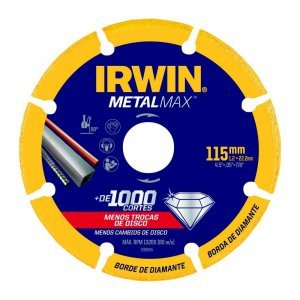 Disco De Corte Diamantado Para Metais 115mm Metalmax Irwin
