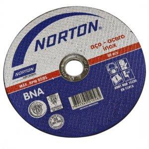Disco de Corte BNA 22 Inox Norton 230 x 2,0 x 22,2 (9