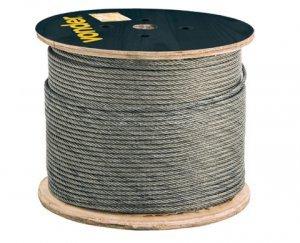 Cabo aço alma de fibra Galvanizado 7,94-5/16 6X25F Vonder