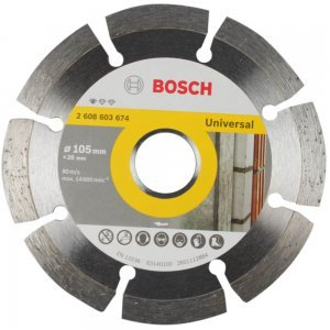 Disco Diamantado Segmentado 105mm Standard Bosch
