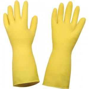 Luva Látex Amarela