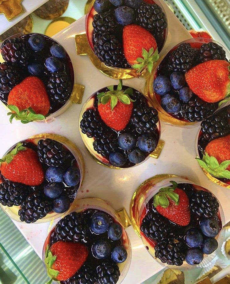 Holandesa Frutas vermelhas