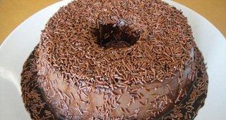 Pudim de Chocolate Brigadeiro
