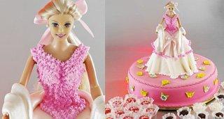 Bolo Barbie